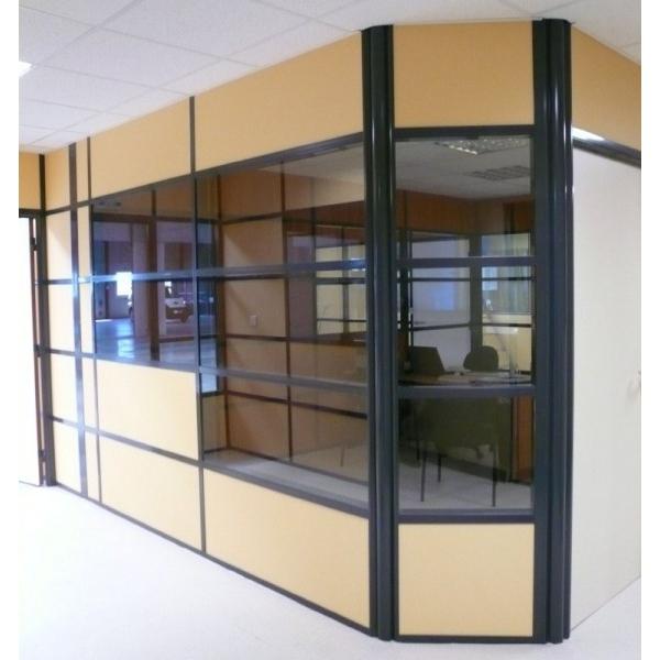cloisons pour l 39 am nagement d 39 espaces bureau. Black Bedroom Furniture Sets. Home Design Ideas