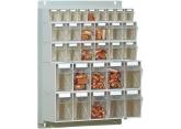 Visiobox kits - wandmodule 163 x 600 x 730 mm PROVOST
