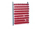 Stockeur mural avec bacs Probox rouges PROVOST