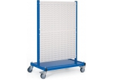 Stockeur mobile équipé de 2 x 2 panneaux crantés PROVOST