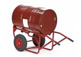 Steekwagen voor metalen vaten 220 liter voor op werven PROVOST