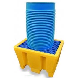 Bac de rétention pour 1 fût de 200 litres PROVOST