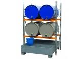 Opvangbak voor 4 vaten van 220 liter PROVOST