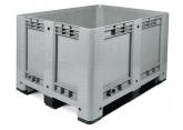 Palletcontainer op 3 sledes 1200 x 1000 x 780