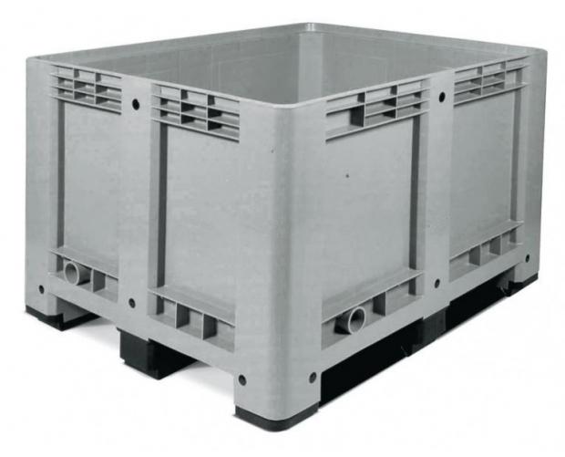 Palletcontainer op 3 sledes 1200 x 1000 x 780 PROVOST