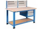 Industriële werkbank 1000 kg –2 lades en gereedschapspaneel PROVOST