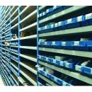 rayonnage tubulaire pour bac plastique PROVOST