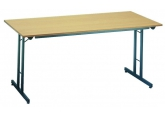 Plooibare tafels met werkblad in beuk PROVOST