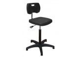 Verstelbare polyurethaan werkplaatsstoel zonder voetensteun PROVOST