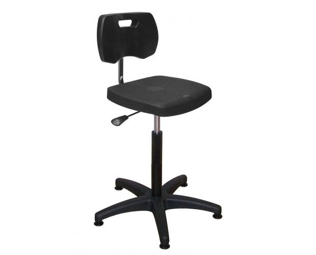 in hoogte verstelbare werkplaatsstoel STORACON
