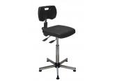 Asynchrone polyurethaan werkplaatsstoel zonder voetensteun PROVOST