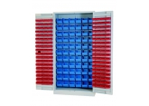 Armoire haute Probox 1000 x 450 x 2000  - avec bacs PROVOST