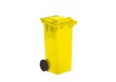 Verrijdbare 2-wiel afvalcontainer 240 liter PROVOST