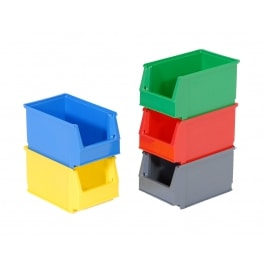 Magazijnbak Systembox model 3 - 230 x 150 x 130 - set van 25 PROVOST