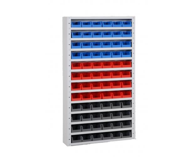 Onderdelenkast Systembox Met 12 Legborden Met Bakken