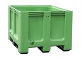 Groene palletkist voor afvalsortering PROVOST