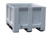 Caisse palette grise 610 litres pour tri sélectif PROVOST
