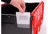 Protection étiquette pour bacs navette PROVOST