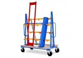Draagarmwagen verticale opslag - enkel- of dubbelzijdig PROVOST