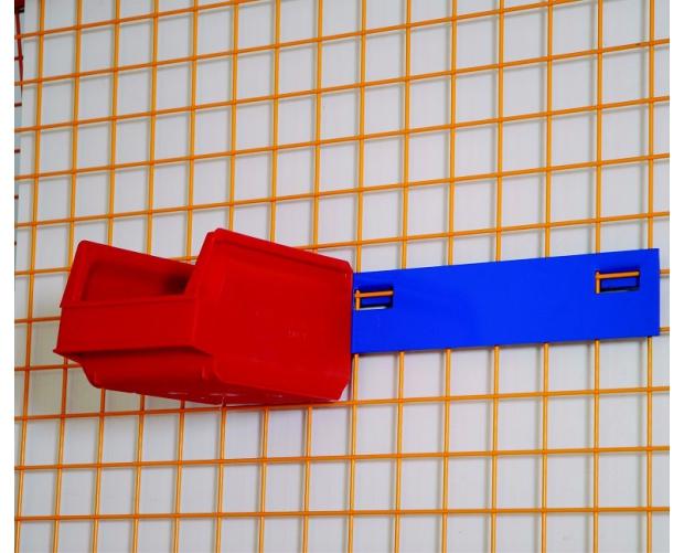 Plaatstalen profiel voor magazijnbakken voor materiaalwagens STORACON