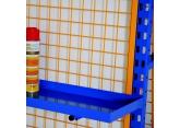Plaatstalen legbordje voor materiaalwagens PROVOST