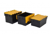 Bac navette 600 x 400 mm - jaune PROVOST