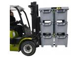 Deksel 1200 x 1000 mm voor pendel-palletbox PROVOST