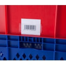 Etikethouder voor stapelbakken PROVOST