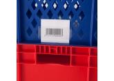 Porte-étiquette pour bacs gerbables 800 x 600 mm PROVOST