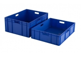 Stapelbak 800 x 600 mm - blauw PROVOST