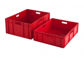 Bac gerbable 800 x 600 mm - rouge PROVOST