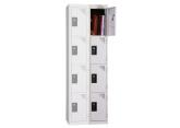 Locker - 2 kolommen 4 vakken - monoblok PROVOST