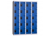 Locker - 4 kolommen 5 vakken - monoblok PROVOST