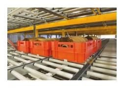 Doorrolstelling voor pallets en zware lasten Prodyn PROVOST