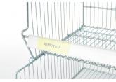 Porte-étiquette PVC L 1230 mm PROVOST