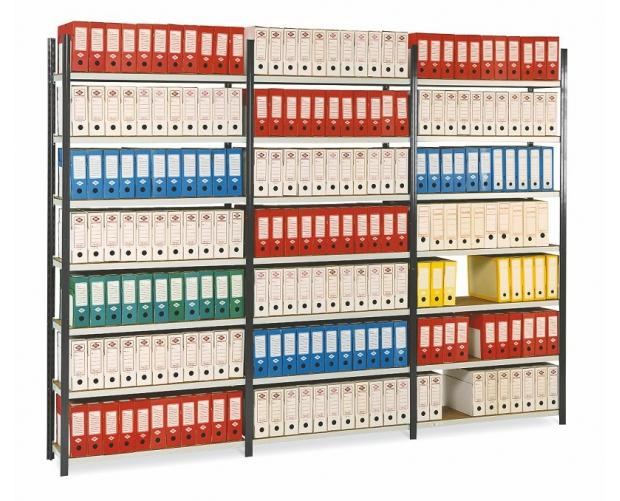 Prospace rek voor archiefdozen geverfd PROVOST