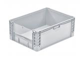 Stapelbak BASICLINE 800 x 600 x 420 - grijpopening met klep PROVOST