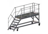 Mobiele trapladder voor toegang tot afvalcontainers - platform (L 3000) PROVOST