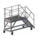 Plateforme aluminium pour accès benne PROVOST