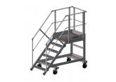 Mobiele trapladder voor toegang tot afvalcontainers - platform (L 1000) PROVOST