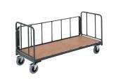 Magazijnwagens voor volumineuze goederen – 3 zijwanden in buis PROVOST