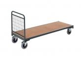 Magazijnwagens voor volumineuze goederen – 1 draadgaas zijwand PROVOST