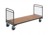 Magazijnwagens voor volumineuze goederen – 2 draadgaas wanden PROVOST