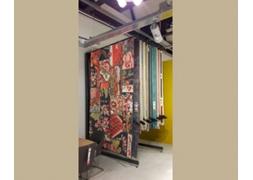 WARA, tapijtrek met bladersysteem met verankering PROVOST
