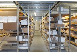 Inrichting van voorraadruimtes van verkooppunten PROVOST