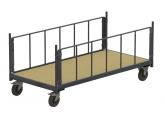 Magazijnwagens voor volumineuze goederen - 2 zijwanden in buis PROVOST