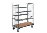 Hoge magazijnwagens voor volumineuze goederen – 4 halve etages in buis PROVOST