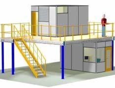 Plateformes / Cloisons industrielles