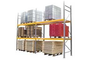Palletstellingen en opslag  zware goederen PROVOST